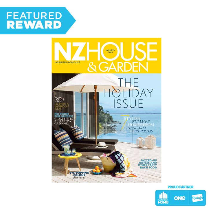 NZ House & Garden Subscription #flybuysnz #425point #OFHNZ