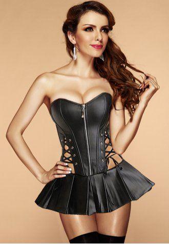 Glamor cunt closeup corset bustier gallery