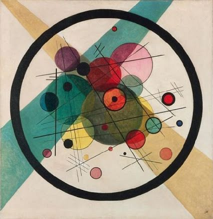 Wassily Kandinsky (Russian, later French, 1866-1944): Circles in a Circle, 1923