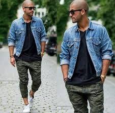 Image result for bald men fashion
