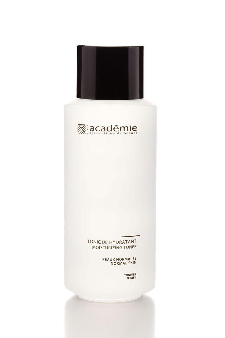 """Heerlijk product, Tonic Hydratant. Verrijkt met plantenextract en appelwater. Je kunt het gebruiken als tonic/ splash, maar ook als vetvrije verzorging. Aanbrengen op de huid en als het ware """"induwen"""". De tonic wordt een beetje plakkerig. Je voelt de verzorging! #academiescientifiquedebeaute"""