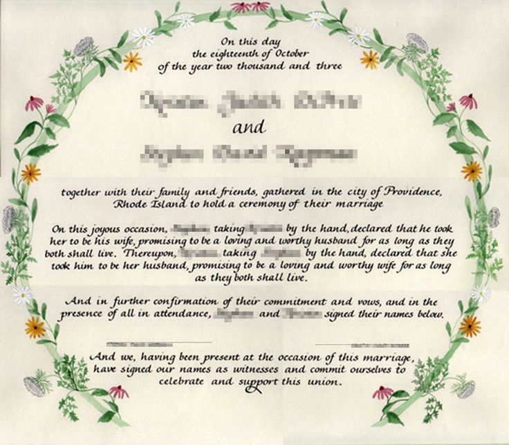 The 25+ best Wedding certificate ideas on Pinterest Traditional - marriage certificate template