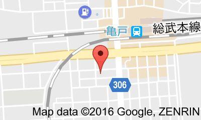 どれ味 亀戸店の地図