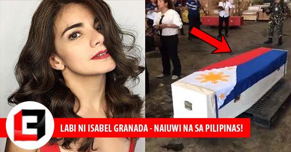 Labi Ni Isabel Granada Nakarating Na Sa Bansa At Binigyan Ng Military Honors Ng Philippine Air Force!