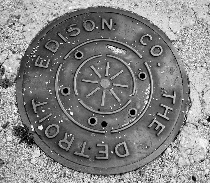 A personal favorite from my Etsy shop https://www.etsy.com/listing/247237690/manhole-covers-of-detroit