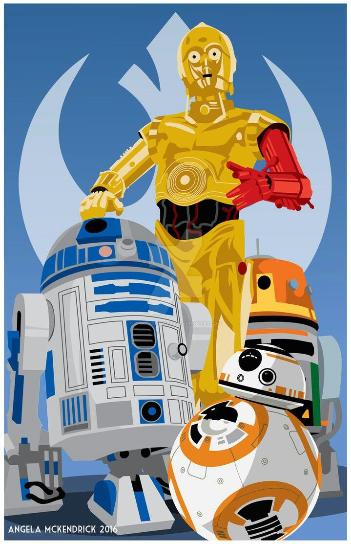 These ARE the droids you've been searching for...