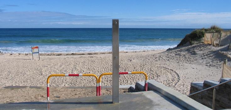 Perfect along the Australian coastline, the Urban SS150 shower.