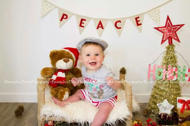 His first Christmas