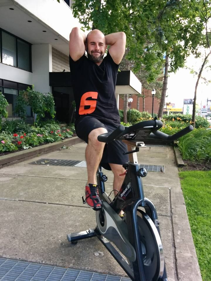 If you stroll by Striation 6, you might just see Co-Founder Sam Trotta outside on a bike. All in a day's work! Come on in and #GetStriated with us. http://bit.ly/1sjeXga
