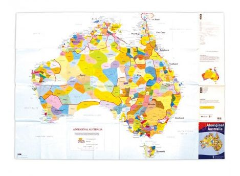 A must for every centre and school! Encourage cultural awareness and appreciation for diversity. Shows boundaries, geographical locations and languages of Indigenous Australians. Measures 84 H x 119cm W.