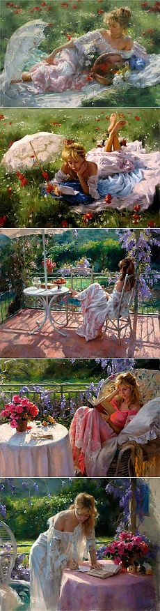 Испанский художник Vicente Romero Redondo. Чудо - женщина..