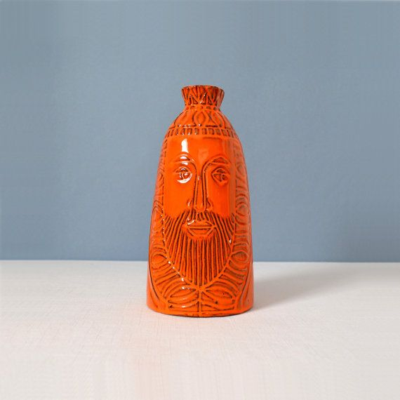 Vintage Raul Coronel King Vase for Treasure Craft - California Pottery