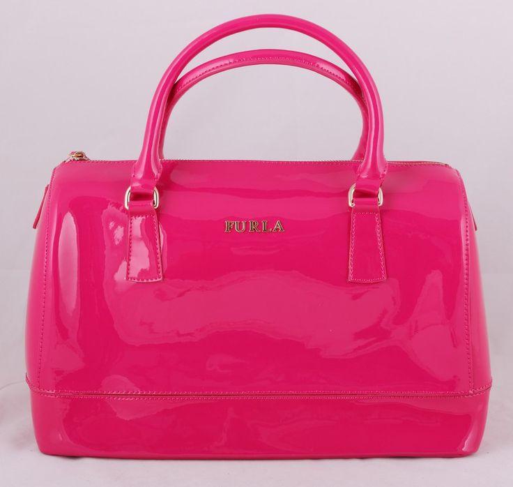 Сумка Furla (Фурла) Candy розового цвета  !! Последняя распродажа модели !! Продаётся с большой скидкой !! !! Отличное качество и низкая цена !!