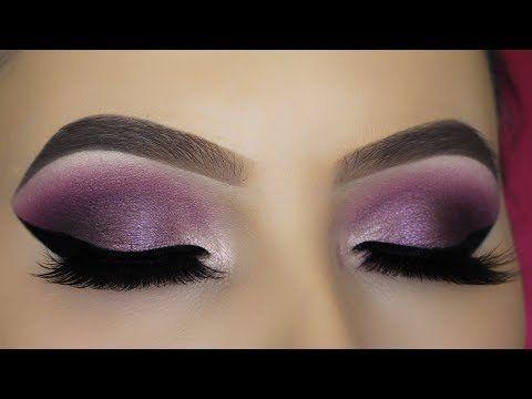 2cbd6d191a3 Classic Silver Glitter Eye Makeup Tutorial - YouTube  EyeMakeupSimple