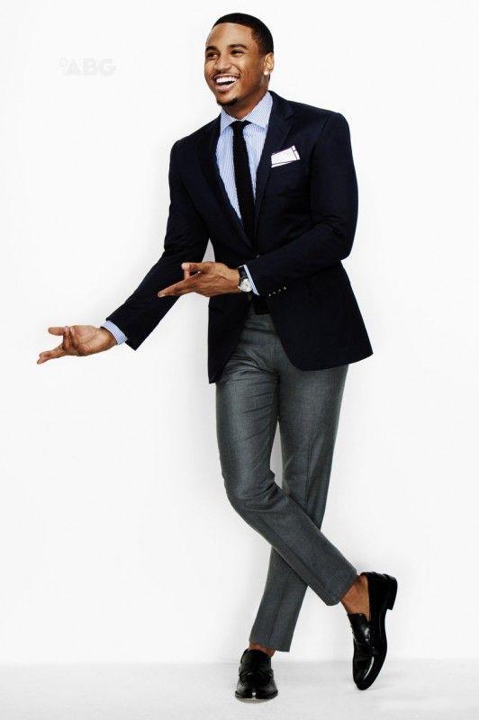 Trey Songz pour GQ... Une vraie bête de style !