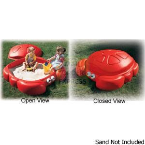 Step 2 Crabbie Sandbox Sandpit Brightly coloured crab character sandbox for sand and water play activities The sculptured shell http://www.comparestoreprices.co.uk/outdoor-toys/step-2-crabbie-sandbox-sandpit.asp