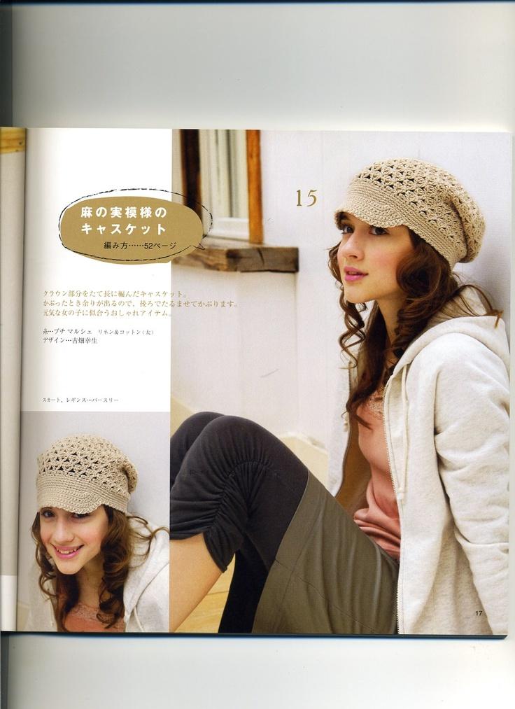 Mejores 87 imágenes de CROCHET HATS en Pinterest   Sombrero de ...