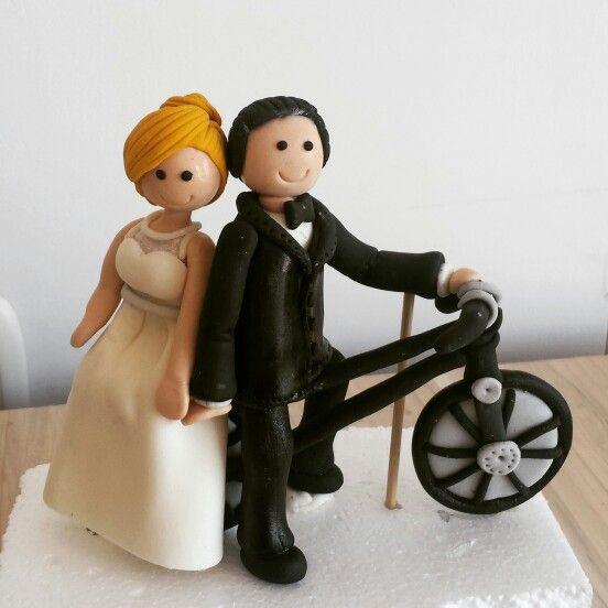 Wedding topper cake  #TopperWedding #TortaDeMatrimonio ❤ @dulcycandy