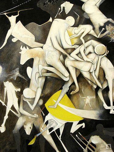Artist Gerardo Chavez (Peruvian : 1937)