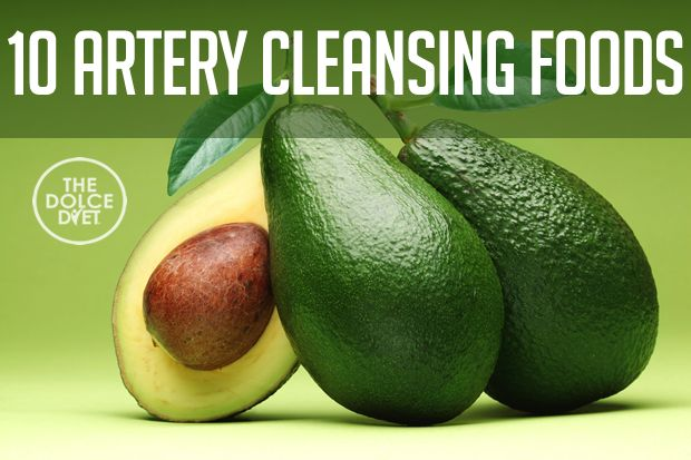 DOLCE LIFESTYLE: 10 Artery Cleansing Foods | The Dolce Diet