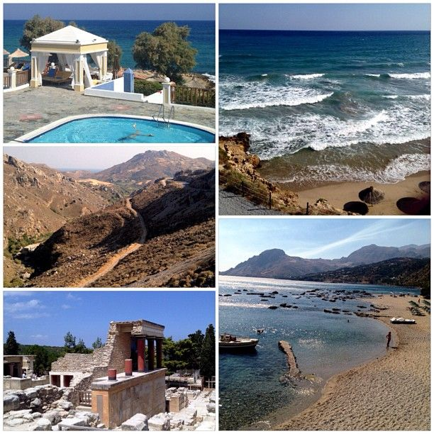 Crete for a geography field trip, 2013