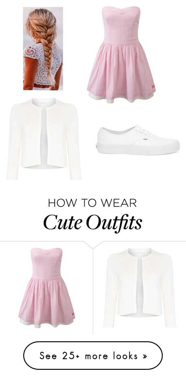 """Chapter 1 (Emmy's outfit)"" by iwritelovestories on Polyvore featuring Superdry, Vans and HUGO"