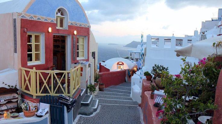 SANTORINI ISLAND , GREECE