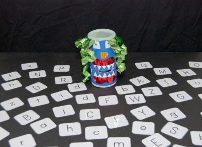 Alphabet Activities - Alphabet Monster Game