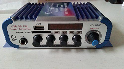 Mini Amplificateur Audio Voiture, Moto USB SD FM stéréo 3 en 1 Kentiger HY600 Kentiger http://www.amazon.fr/dp/B01CBHNT34/ref=cm_sw_r_pi_dp_K0Z0wb16GDZKN