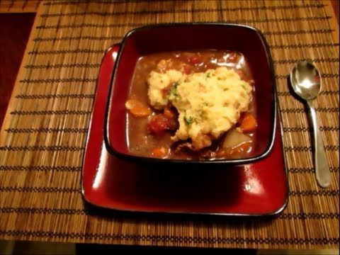 Slow Cooker Sunday: Jen's Beef Stew and Dumplings