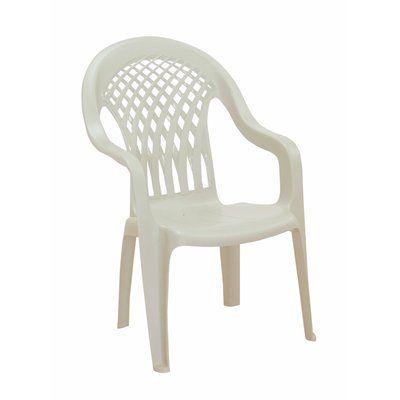Adams Mfg Corp Tropical Isle High-Back Patio Dining Chair