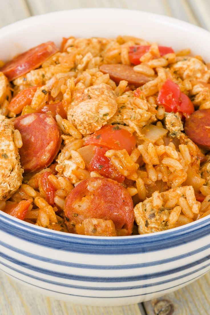 Easy Cajun Jambalaya Recipe   Chicken   Pinterest ...