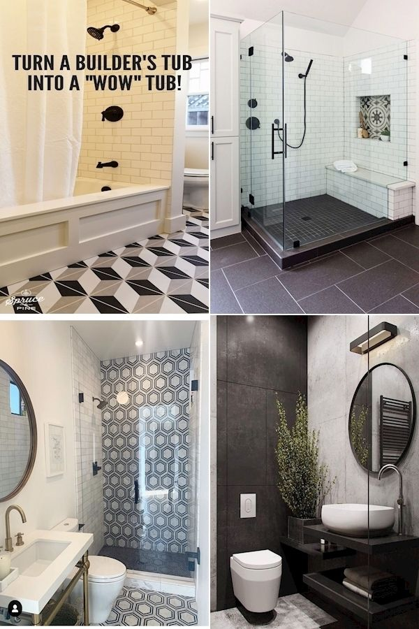 His And Hers Bathroom Decor Black And White Bathroom Accessories