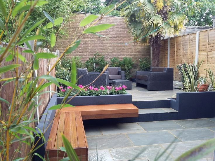 Concrete Block Bench Outdoor Seating