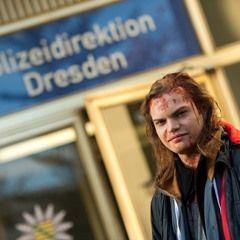 """Wilson Gonzalez Ochsenknecht on set of TV show's """"Tatort: Level X"""""""