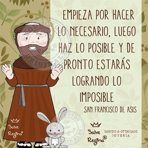 Consejos de San Francisco de Asís para ser santo/a.