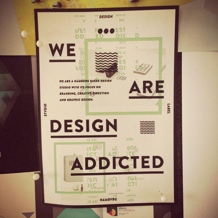 Addicted to design