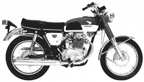 43 best Honda CB350 CB360 CB360 CL360 CB250 Motorcycle