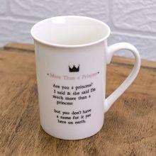 MTC05 - More Than A Princess Mug