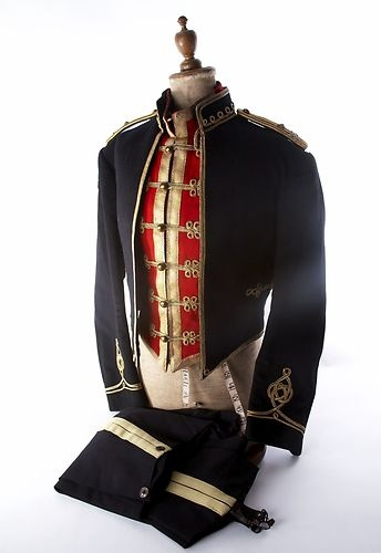 HUSSARS 14th/20th MAJOR GENERAL MESS DRESS JACKET/TUNIC