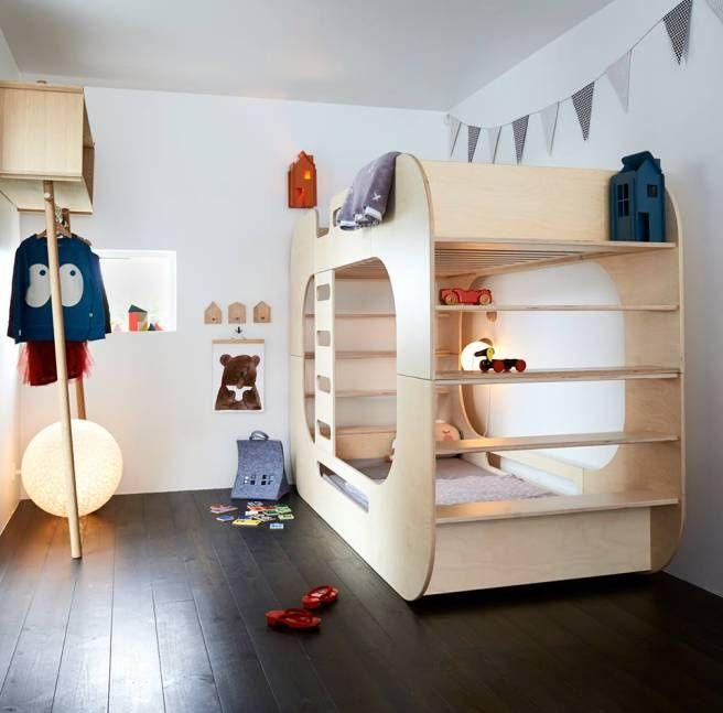 Children Space In Modular Compact House Of 20 Sqm!, IO Bunk Bed, By. Haus Für  KinderKinder ... Design Inspirations