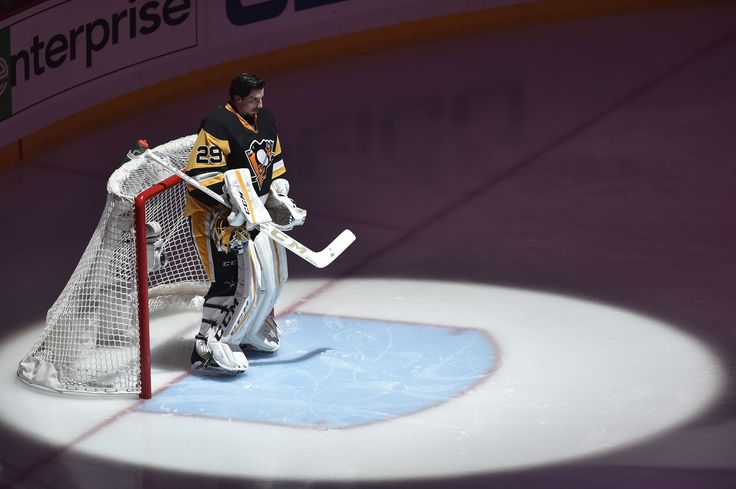 Flames Calling Penguins About Marc-Andre Fleury: Report - http://thehockeywriters.com/calgary-flames-pittsburgh-penguins-marc-andre-fleury/