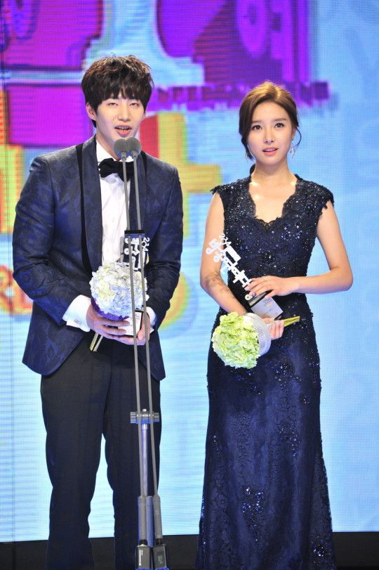 2014 MBC Entertainment Awards | Best Couple Award – Song Jae Rim and Kim So Eun