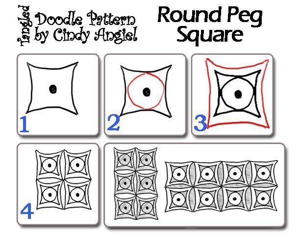 Simple zentangle patterns - Letter & Calendar Worksheets Templates ...