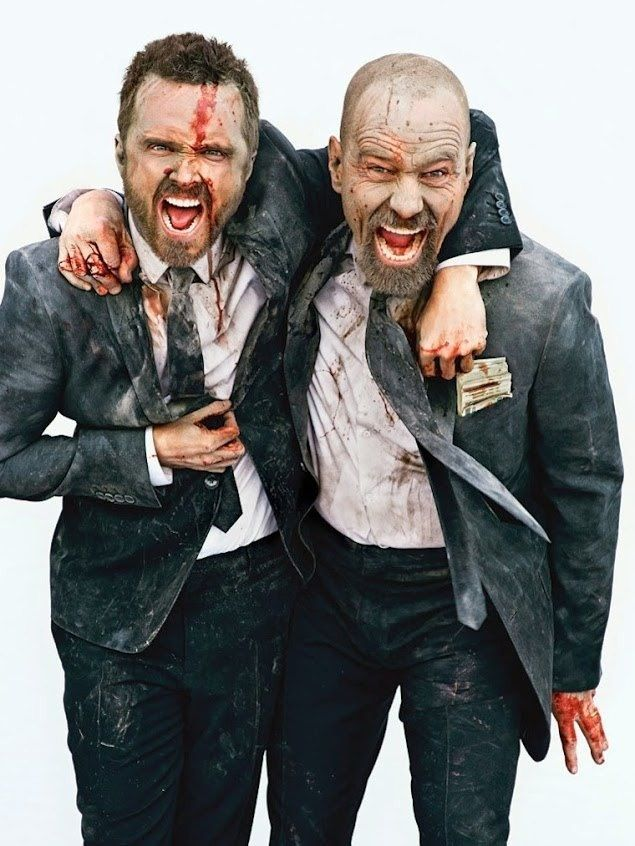 Breaking Bad with Bryan Cranston and Aaron Paul