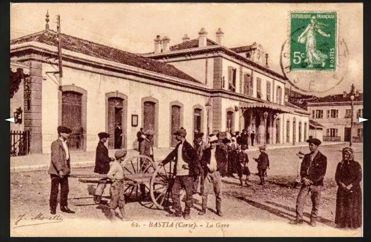 La gare de Bastia.