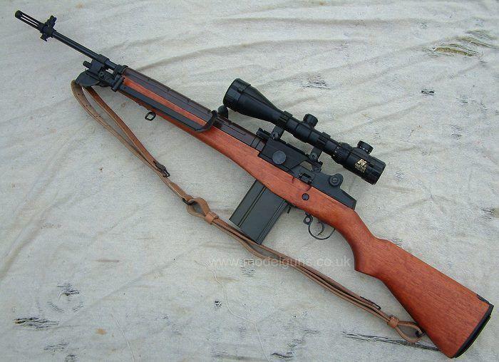 M14 w/scope