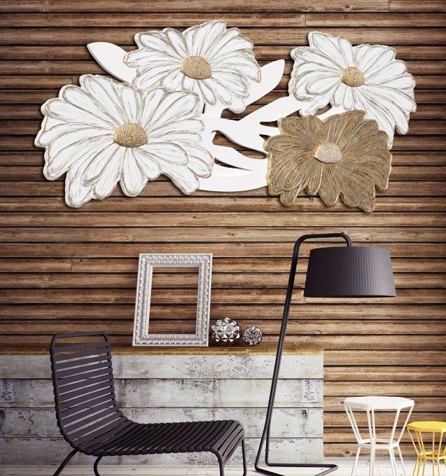 #PINTDECOR #quadro #margherite #white #design #arredo #arte #madeinitaly #flowers #tela #collezione2016