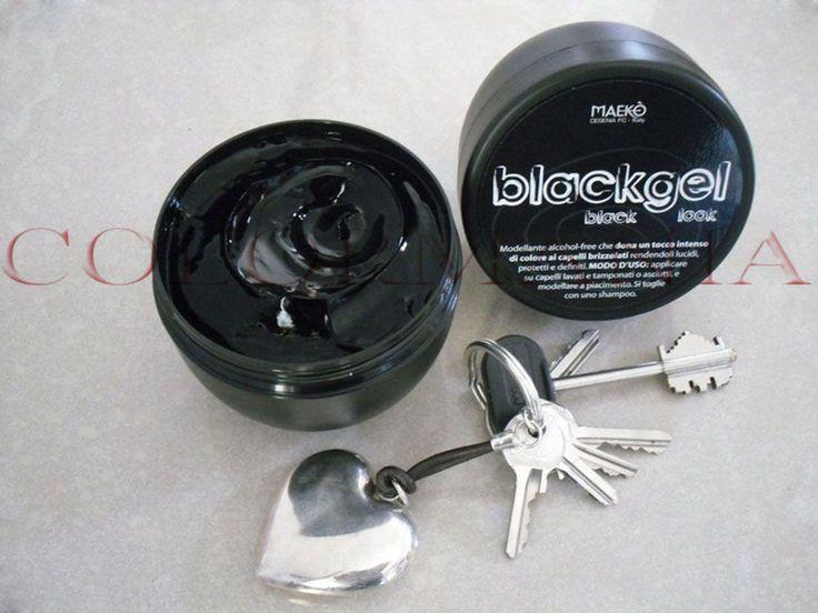 BLACKGEL GEL BLACK PER CAPELLI BRIZZOLATI NON SPORCA CAPELLI BIANCHI VASO 300 ML