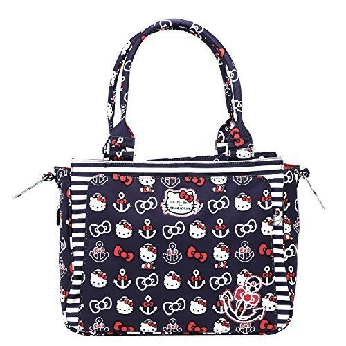 JuJuBe Be Classy Structured Handbag Diaper Bag  Hello Kitty Out to Sea by JuJuBe -- Details can be found by clicking on the image.Note:It is affiliate link to Amazon.